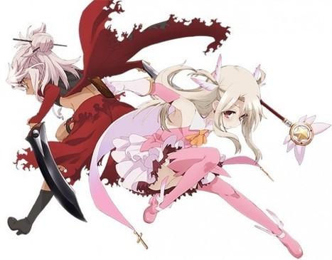 Fate/kaleid liner Prisma☆Illya Zwei! aura une Saison 2! Voici le 1er Visual Art | Actualité: Manga et Anime | Scoop.it
