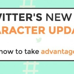 Twitter's New 140 Character Updates and How to Take Advantage of it | Digital Marketing Strategy | Scoop.it
