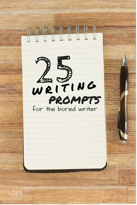 Writing Prompts - CarrieElle.com | Writing Rightly | Scoop.it
