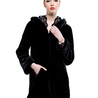 Comfortable faux fur coat fashion