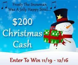 $200 Christmas Cash Giveaway | It's Holiday Season.. | Scoop.it