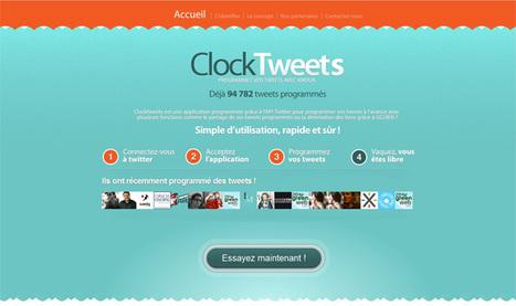 Postcron et ClockTweets, planifier des publications sur Facebook et Twitter | Teaching in the XXI Century | Scoop.it