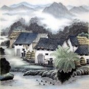 Chinese Water Township for sale! | Artisoo Chinese Painting | Scoop.it