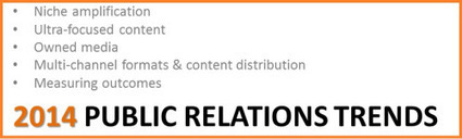 PR Trends for 2014: Focused Content & Multiple Formats Appeal to ... | Public Relations and Music | Scoop.it