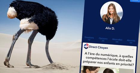 L'UMP fait l'autruche sur la vie privée dans Direct Citoyen | Libertés Numériques | Scoop.it
