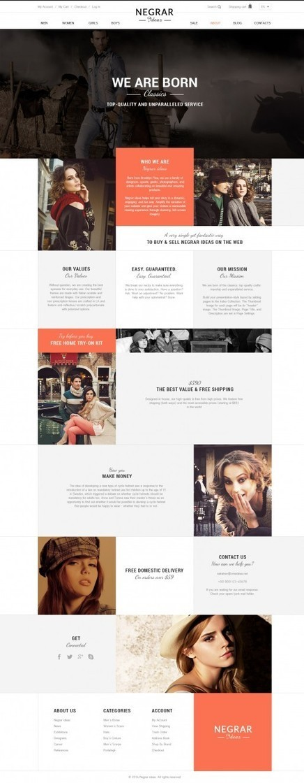 Magento Fashion Theme | eCommerce Theme | Store Responsive Theme | Magento Extensions and Magento Themes | Scoop.it