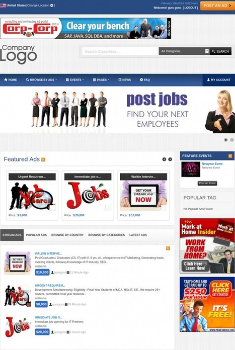 How To Set Up Jobs Classifieds Website Using AJ Classifieds V4 | Online Classifieds | Scoop.it