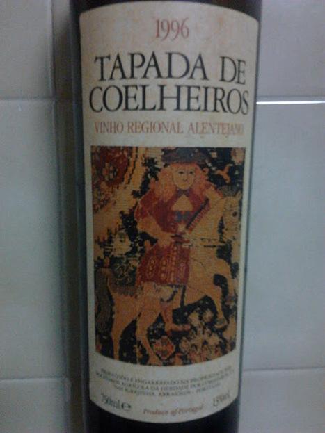 Copo de 3 - Tapada de Coelheiros 1996 | Wine Lovers | Scoop.it