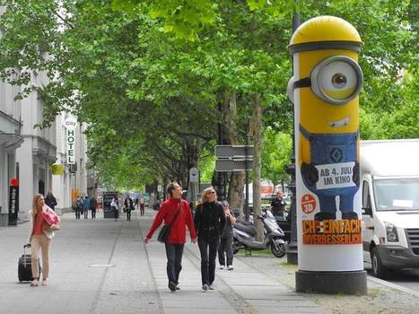 Les minions s'affichent dans la rue | streetmarketing | Scoop.it