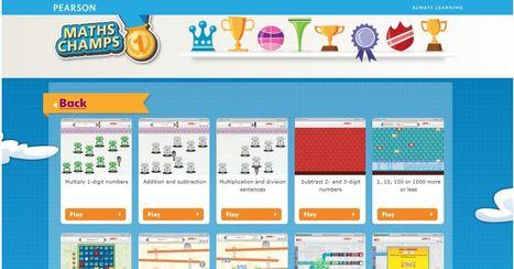 Gemau Ymarfer - Maths Champs - maths games for kids | Adnoddau Mathemateg | Scoop.it