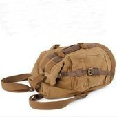 Retro canvas climbing rucksack unisex   personalized canvas messenger bags and backpack   Scoop.it