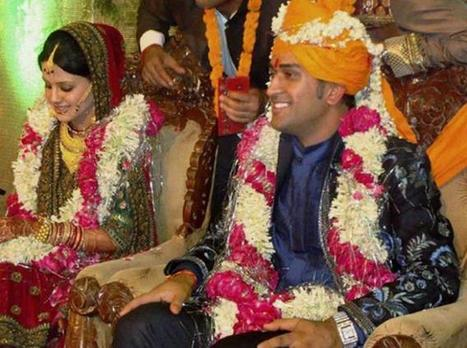 MS Dhoni Sakhsi Marriage Photo Gallery | World Latest Trends | Entertainment2222 | Scoop.it