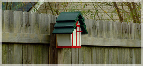 Decorative Birdhouse - Lowe's Creative Ideas | Kids Going Green!! | Scoop.it
