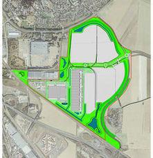 Sénart : le parc logistique géant sort de terre | solutions-stockage-logistique | Scoop.it