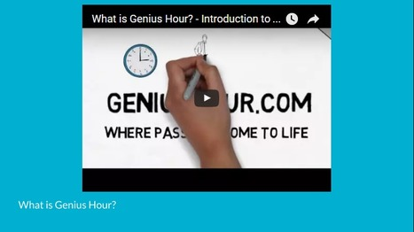 Genius Hour – Higher Order Thinking Through Student Agency | Educational Technology | Scoop.it