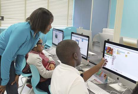 Landover pilot program teaches elementary students programming fundamentals -- Gazette.Net | Computational Tinkering | Scoop.it