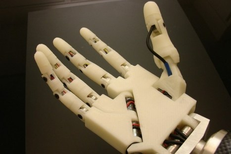 "Does your robot need a hand? 3-D printer to the rescue! | L'impresa ""mobile"" 