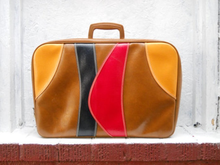 1970s Mod Overnight Bag | Kitsch | Scoop.it