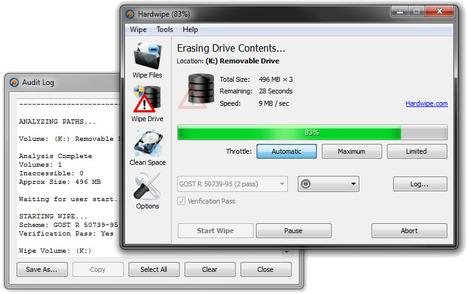Supprimer les fichiers définitivement: 5 outils gratuits | Geeks | Scoop.it