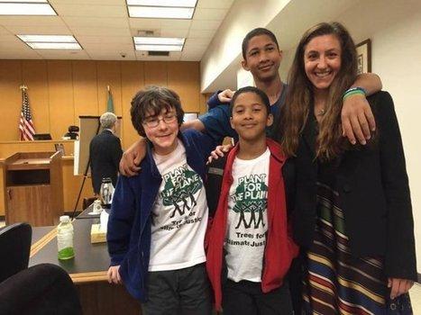 Aux Etats-Unis, des enfants gagnent un procès pour protéger le climat | Nouveaux paradigmes | Scoop.it