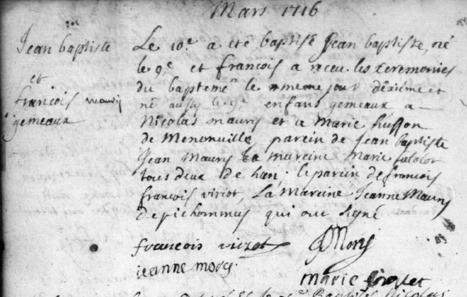 Les gémeaux de Saint-Mihiel #Meuse | Rhit Genealogie | Scoop.it