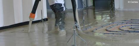 La mise en œuvre de la chape fluide | Immobilier | Scoop.it