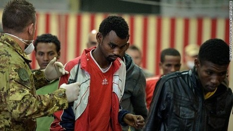 14 killed in sinking of migrants' ship off Italy | apple | Scoop.it