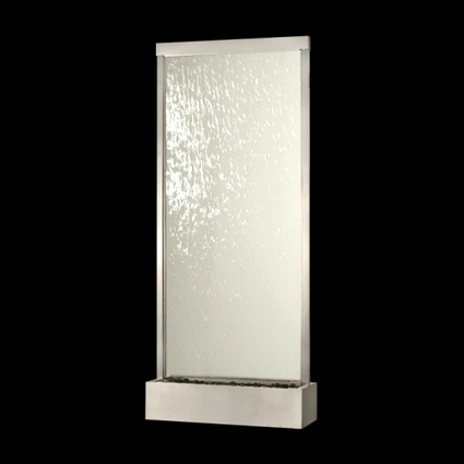 Exalted Fountains   Grand Glass Floor Waterfall   Indoor Fountains In All Sizes   Scoop.it