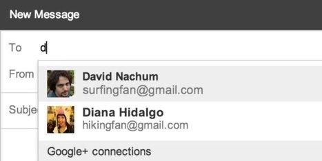 Recevoir des mails d'inconnus, c'est encore plus simple avec Gmail | Mobile Web Applications | Scoop.it