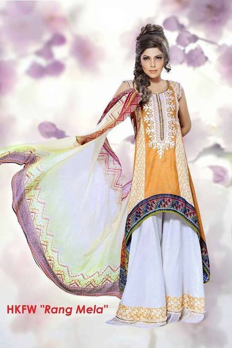 Hadiqa Kiani Colorful Party Summer Wear Collection for Women | Style Stylo | Stylestylo | Scoop.it