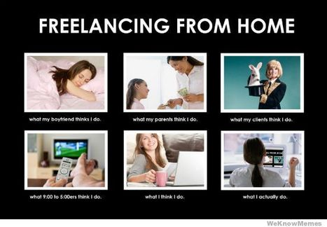 Freelancing From Home | What I really do | Scoop.it