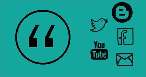 Cómo citar información de redes sociales | Educación 2.0 | Scoop.it