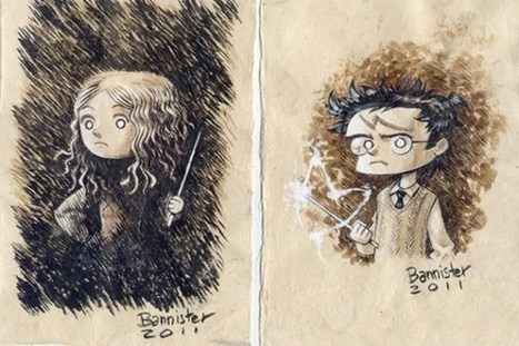 Nicolas Bannister Draws Beautiful Harry Potter Art And More | ART | Scoop.it