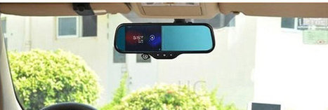 Android Rear View Mirrors Feature Dual Cameras for DVR Function, GPS, Bluetooth, and More | Embedded Systems News | Scoop.it