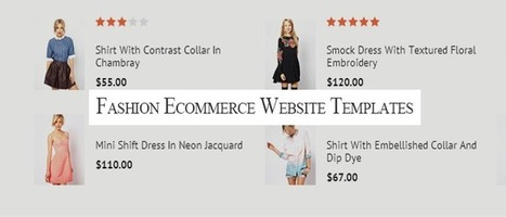 20 Responsive html5 fashion ecommerce website templates 2014 | Designmain.com - Design, Inspiration & Freebies | Scoop.it