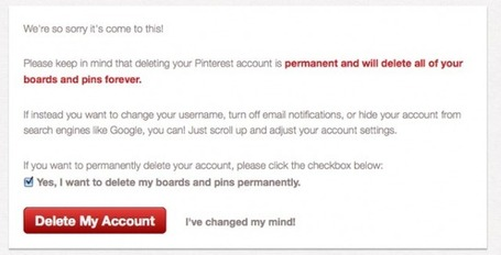 The Reason I've Just Deleted My Pinterest Account | Edudemic | ICT tips & tools, tracks & trails and... questioning them all ! | Scoop.it