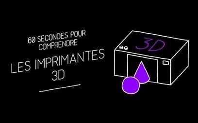 60 sec pour comprendre les imprimantes et scanners 3D | Geeks | Scoop.it