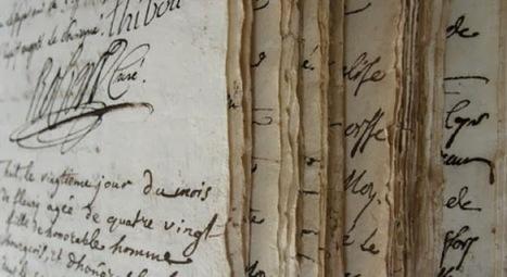 Dépouiller les registres d'une paroisse | Aide généalogie | L'écho d'antan | Scoop.it