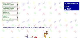 La chanson en cours de FLE. | Sites et Blogues de FLE : une sélection du CASNAV de l'académie de Nantes | Scoop.it