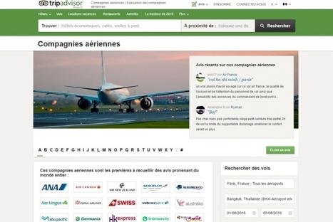 Tripadvisor lance les avis sur les compagnies aériennes | Médias sociaux et tourisme | Scoop.it