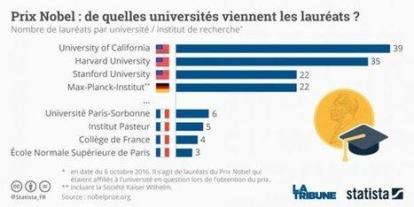 Prix Nobel : dans quelles disciplines les Français brillent-ils le plus ? - La Tribune | Jean Tirole Prix Nobel d'économie 2014 | Scoop.it