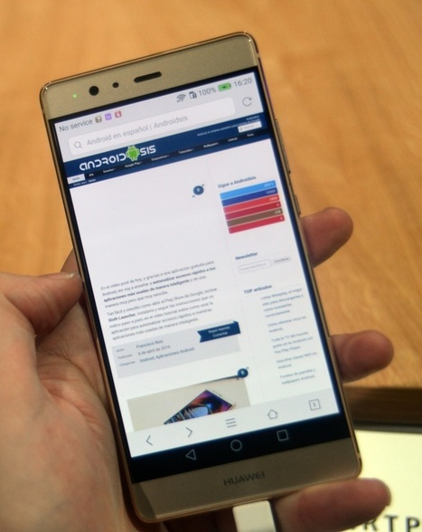 Huawei P9 Plus, primeras impresiones: Huawei planta cara al Samsung Galaxy S7 | Mobile Technology | Scoop.it