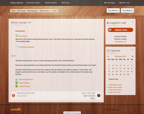 Moodle in English: Elegance Theme Released | Ux and audiovisual language | Scoop.it