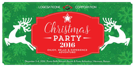 Christmas Party Tarpaulin Concept and Design Layout | LogicGateOne Corp. | Scoop.it