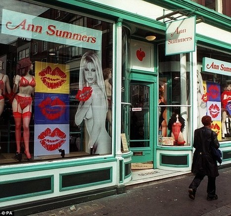 Ann Summers ordered to cover up or take down bondage window displays | Women: Relationships, alcohol, porn, lesbians, masturbation, swinging, fantasy, female sex predators and orgasm | Scoop.it