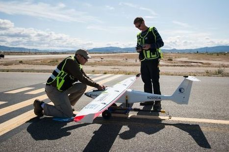 This Drone Just Seeded A Rain Cloud In The Desert | Robotics | Scoop.it