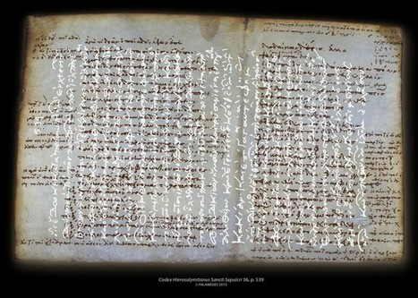 Scientists reveal ancient texts in medieval manuscripts - Medievalists.net | Archaeology News | Scoop.it
