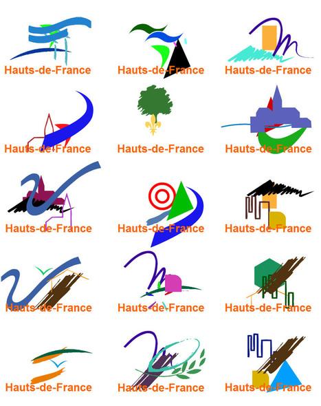 On a dessiné le logo de la région Hauts-de-France | #arts visuels #graphisme #etc | Scoop.it