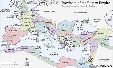 Map of the Roman Empire | Mundo Clásico | Scoop.it