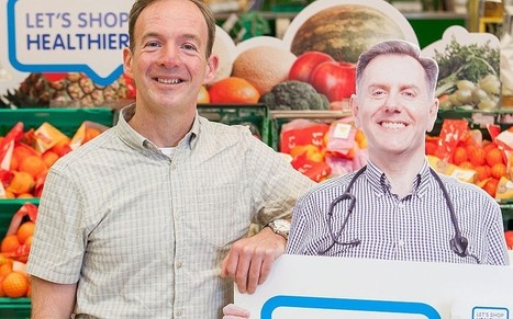 Lifesize cutouts of doctors and nurses causes a spike in healthy food sales at supermarket - Telegraph | Behavioural Economics | Scoop.it